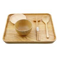 原木餐具套装01